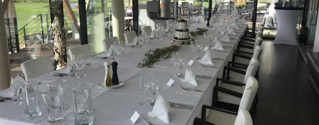 Restaurace Parkgolf - nominované svatební místo