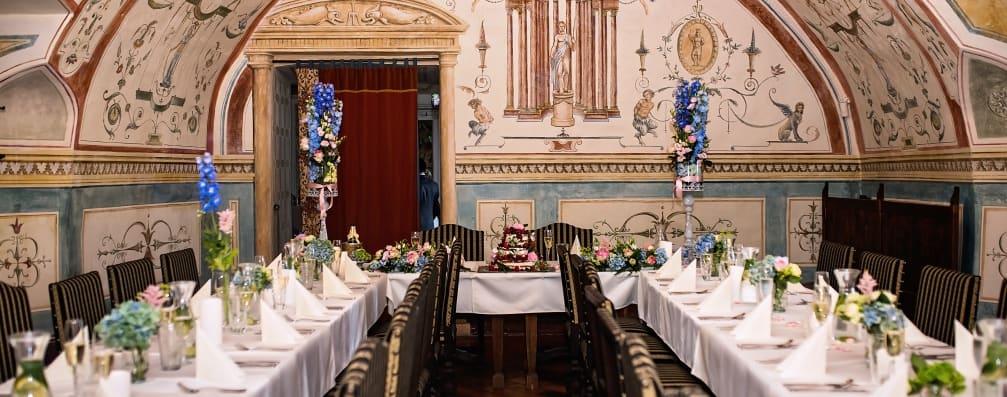 Zámecká restaurace Rychta Brandýs - nominované svatební místo