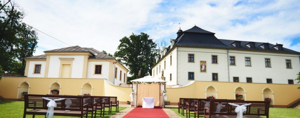Zámecká restaurace Štáblovice - nominované svatební místo