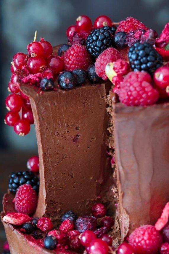 Svatební dort od Secret of raw 2