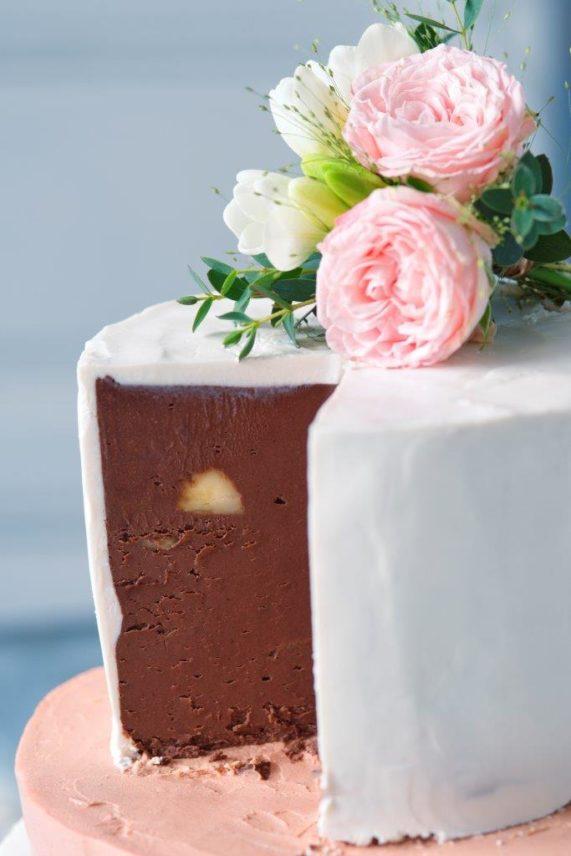 Svatební dort od Secret of raw 3