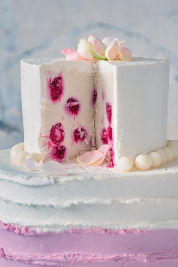 Svatební dort od Secret of raw 4