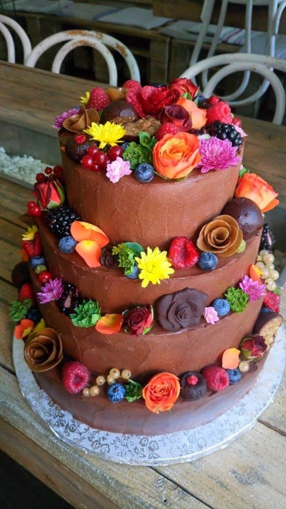 Svatební dort od Secret of raw 5