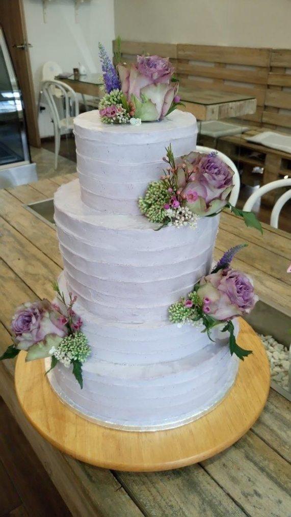 Svatební dort od Secret of raw 6