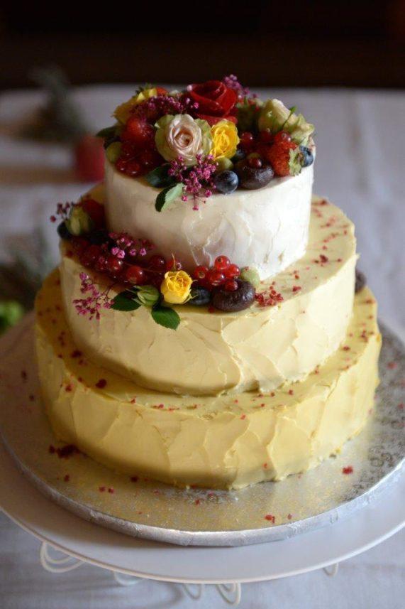 Svatební dort od Secret of raw 7