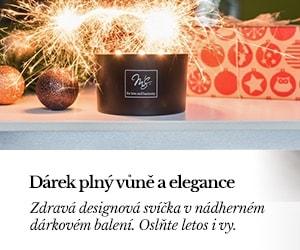 Darujte luxusní multifunkční svíčku jako krásný vánoční dárek