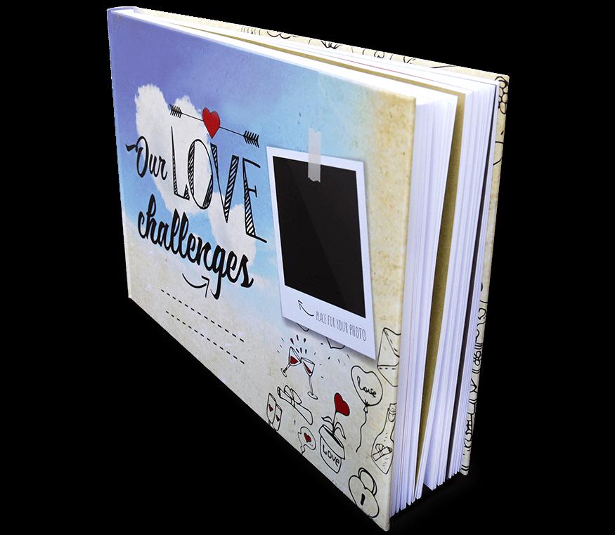 """Our love challenges – kniha pro zamilované"" - bláznivá a dost COOL"