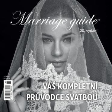 Magazín Marriage guide 2019 titulní strana