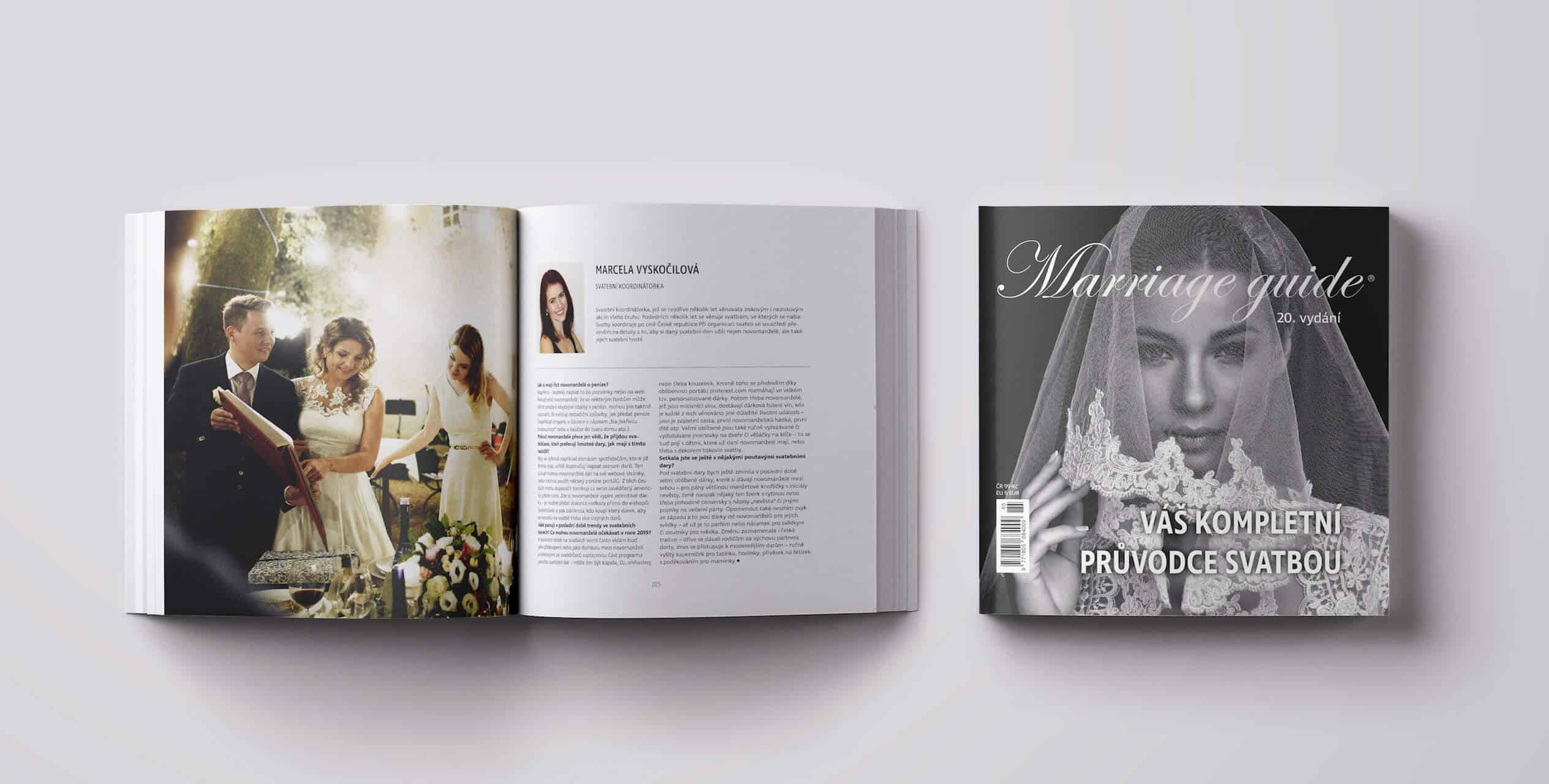 Magazín Marriage guide 2019 vnitřek 1