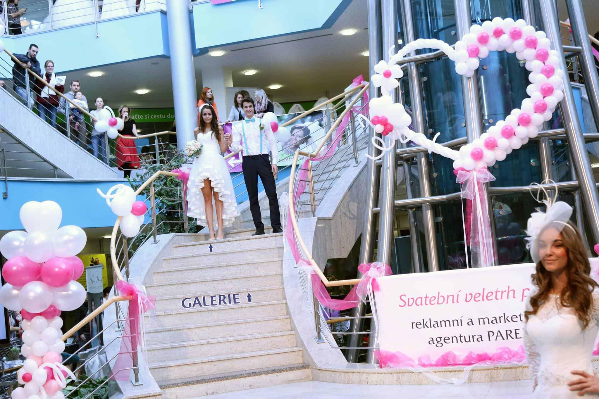Svatební veletrh Pardubice - schody