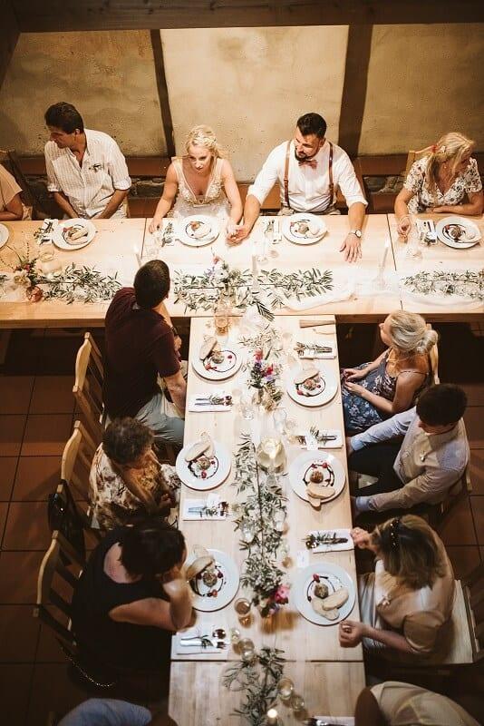 Caterings.cz - svatební tabule
