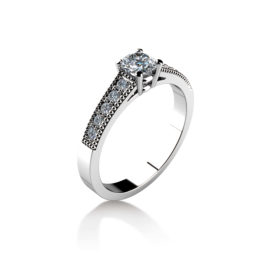 Výroba snubních prstenů na zakázku - Zlatnictví Rýdl 064