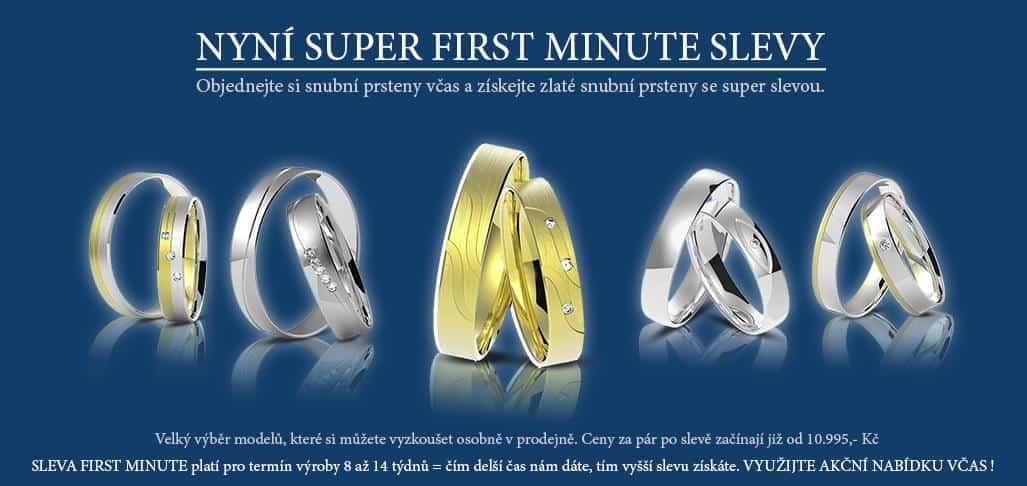 Ráj snubních prstenů: banner modrý