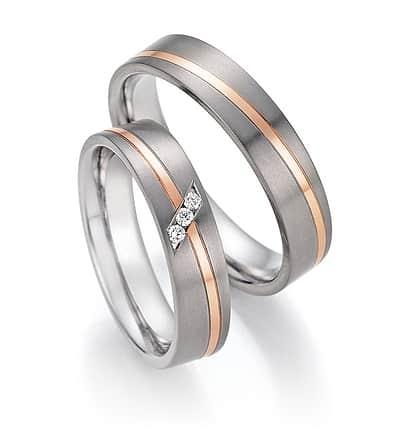 Ráj prstenů : Titan + Růžové zlato