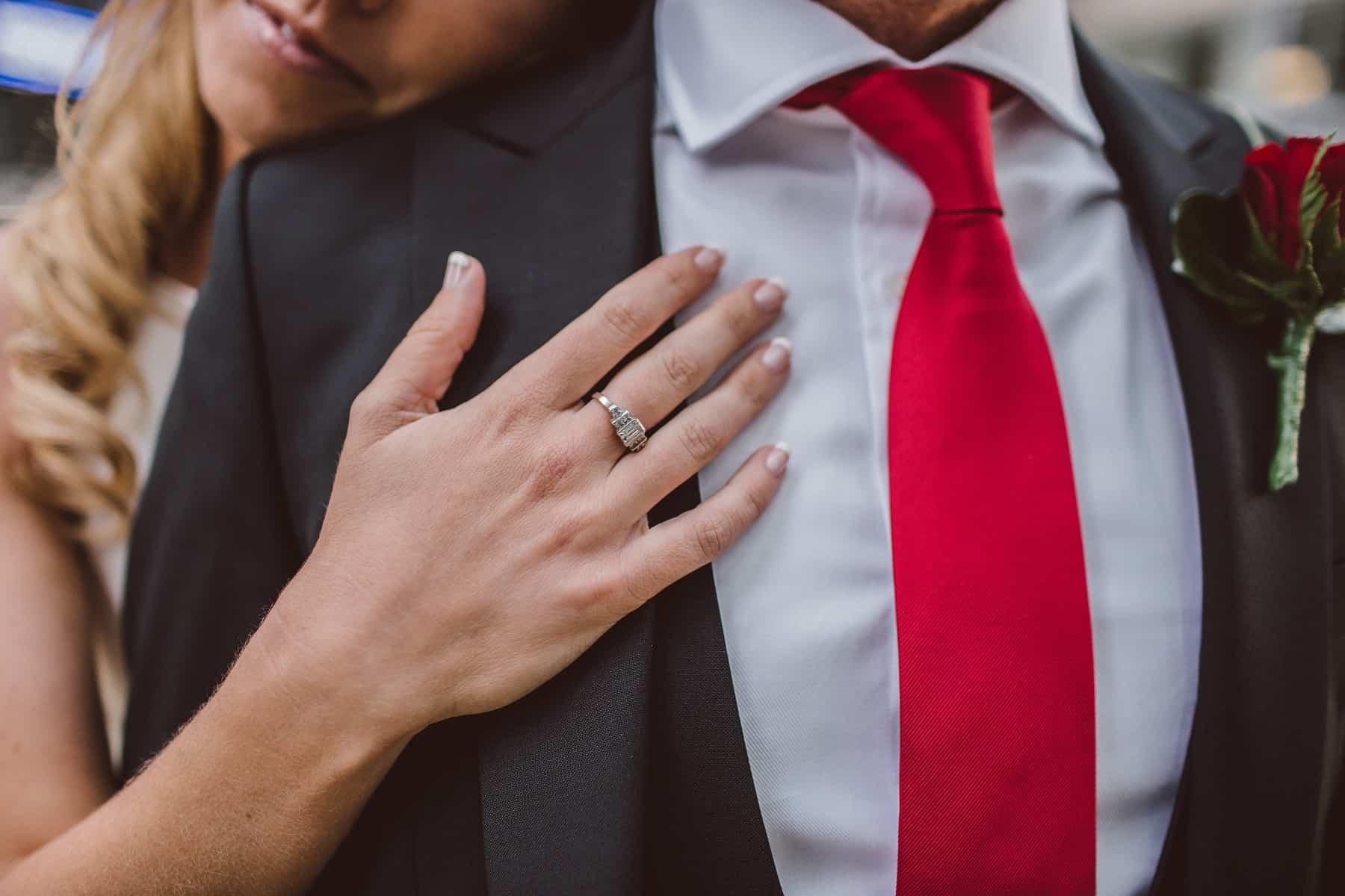 Wowdoplňky kravata červená
