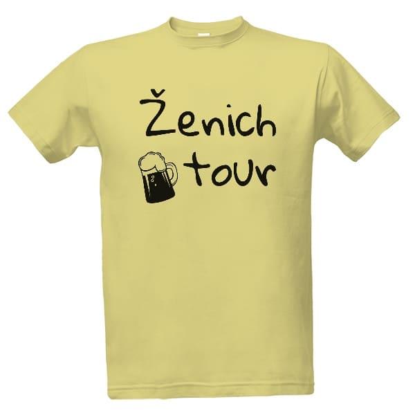 Svatební tričko na rozlučku - ženich tour