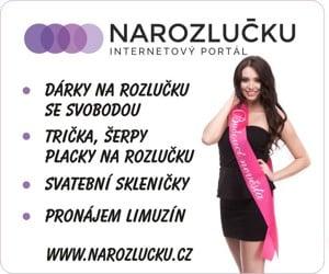 Programy a doplňky na rozlučku od Narozlucku.cz