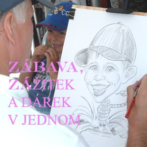 Karikaturky.cz - Na živo vás nakreslíme, šprýmy vtípky připojíme.