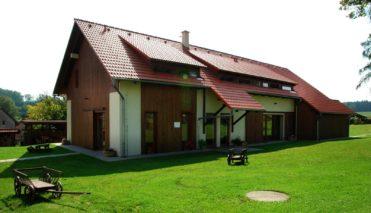 Zámeček Klokočov - rekonstruovaná stodola