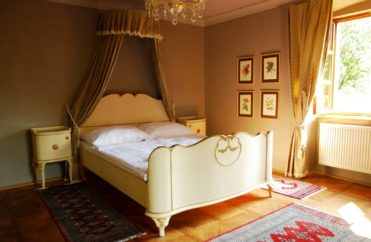 Zámeček Klokočov - zámecké svatební apartmá