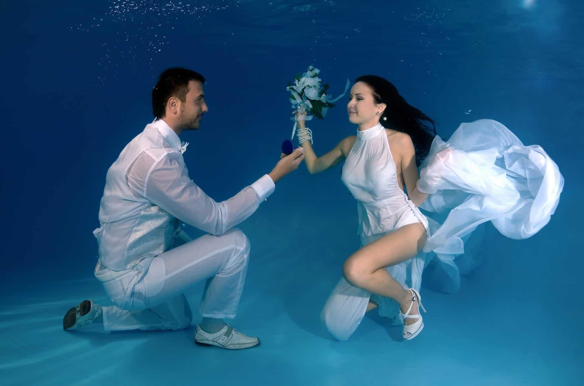 Chci Tě milovat do konce života, aneb význání lásky pod vodou