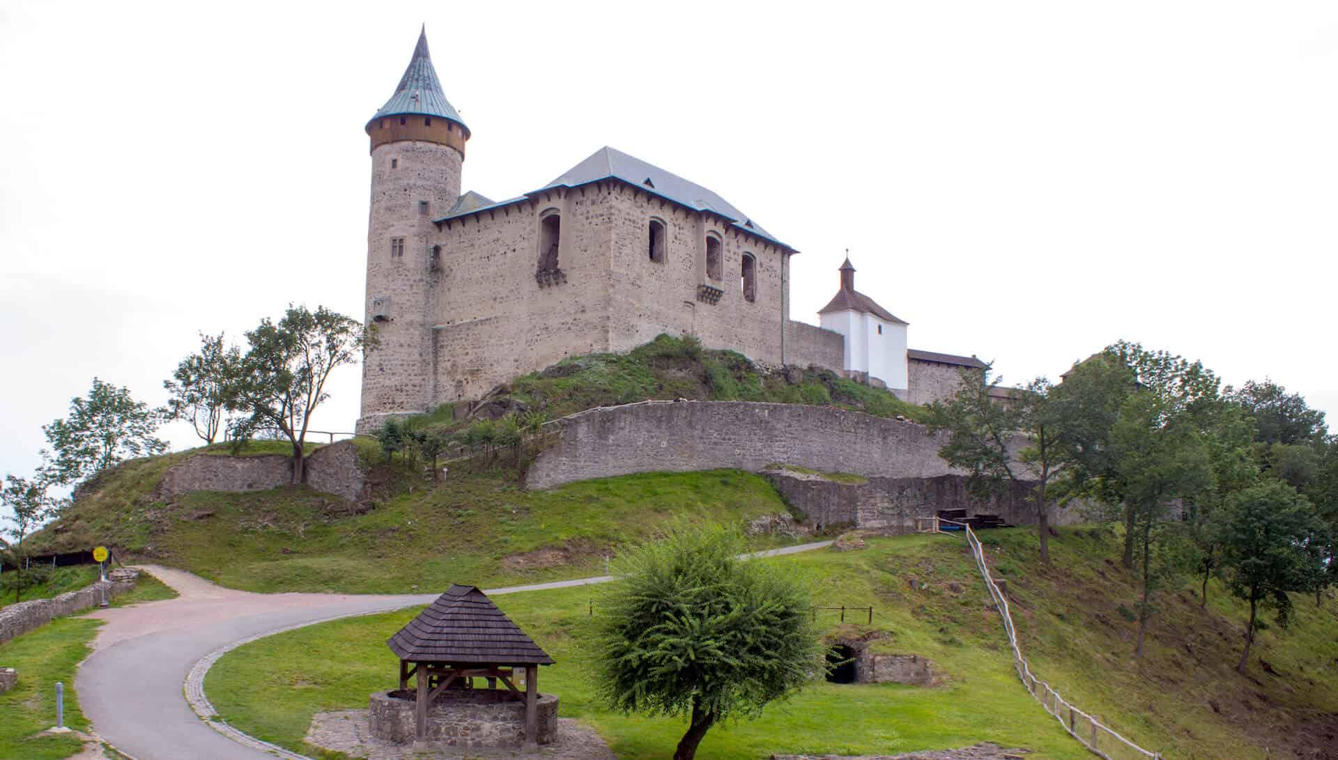 Svatební místo hrad Kunětická hora