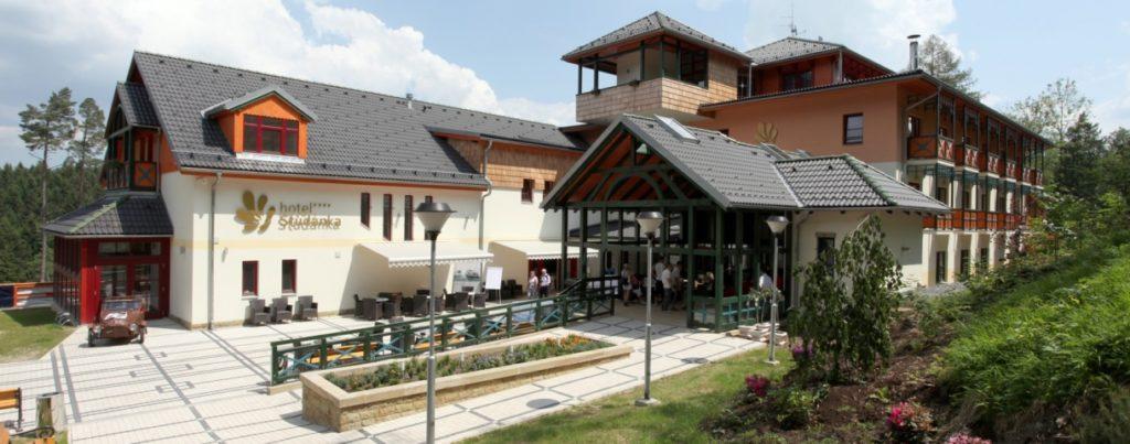 Letovisko Studánka hotel - nominované svatební místo