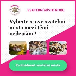 Svatební místo roku 2019 - banner 300x300px
