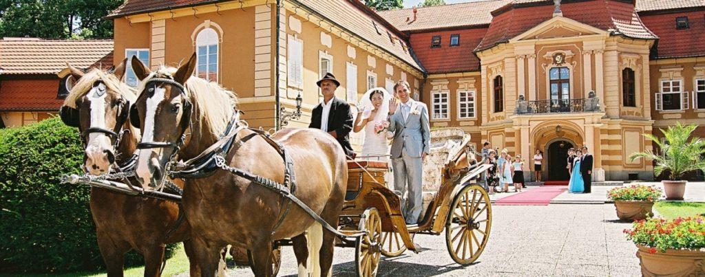 Zámek Štiřín - nominované svatební místo