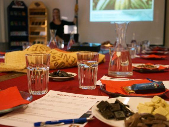 Degustace čokolády pro dva - prezentace
