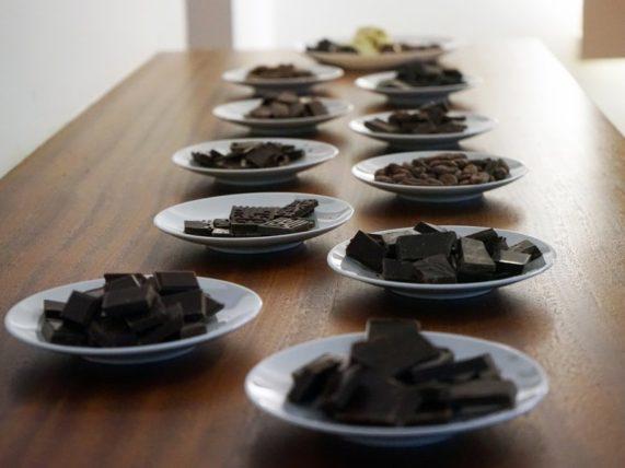 Degustace čokolády pro dva - ochutnávka