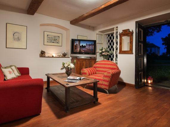 Romantický pobyt v domečku knížete Alexandra - interiér
