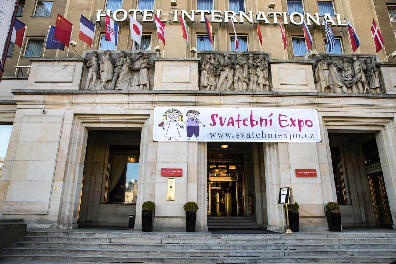 Svatební EXPO 2019 a 2020, vstupní brána
