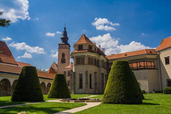 Kraj Vysočina - Zámek Telč se zahradou