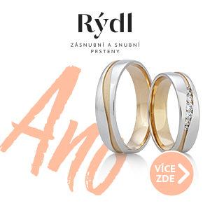 Zlatník Lukáš Rýdl – snubní prsteny