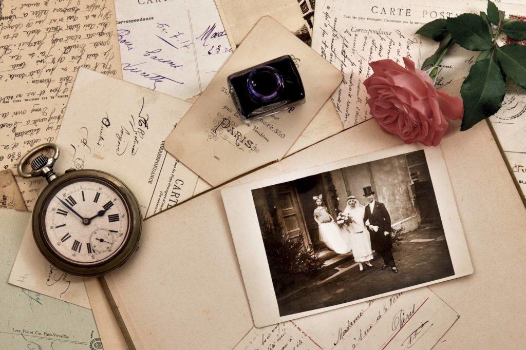Výročí svatby, přání, fotografie, vzpomínky - detail