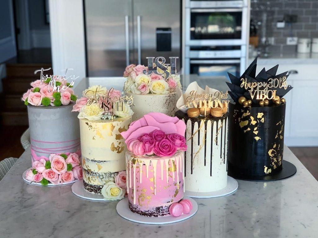 Šest elegantních dortů od Cakes By Ellen