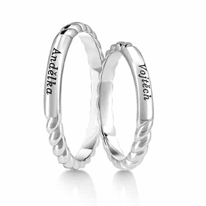 Snubní prsteny Rýdl 066 04
