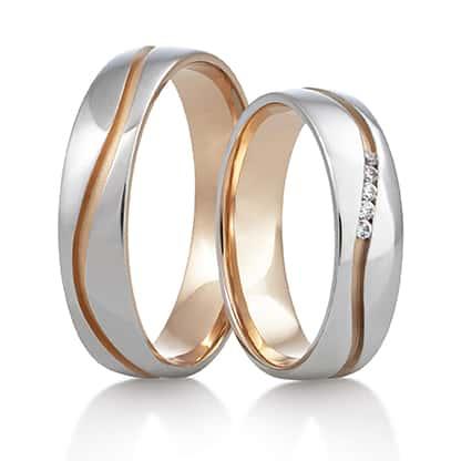 Snubní prsteny Rýdl 375 STIN PINK E