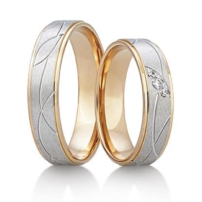 Snubní prsteny Rýdl 384 STIN PINK E