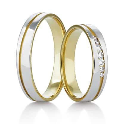 Snubní prsteny Rýdl 418 STIN GOLD E
