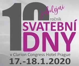 Svatební dny Praha 17. - 18. ledna (10. ročník) 300x250pix