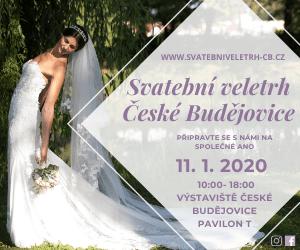 Svatební veletrh v Českých Budějovicích 2020 300x250pix