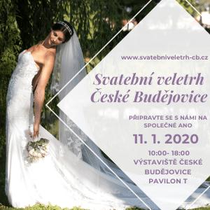 Svatební veletrh v Českých Budějovicích 2020