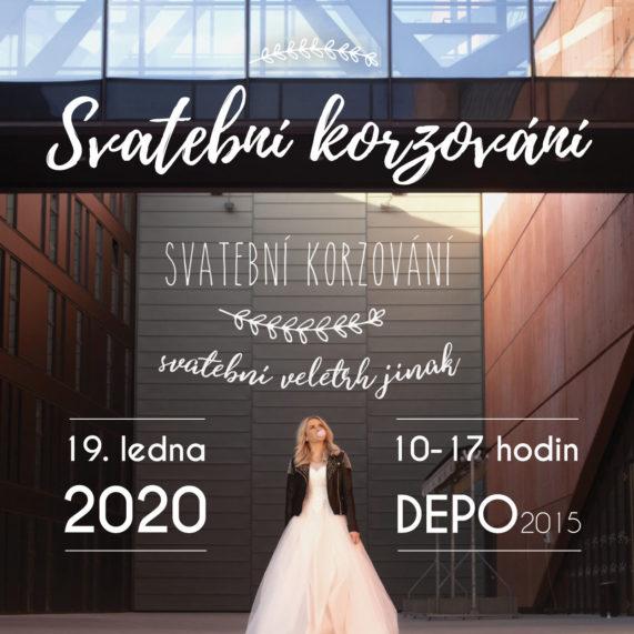 Svatební korzování - plakát 2020