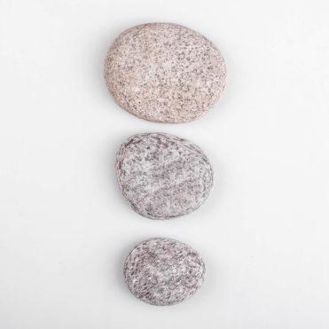 Skippy Stones - 3 originální, pečlivě vybrané přírodní oblázky