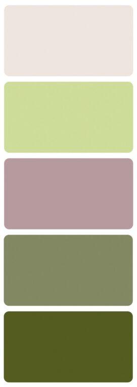 Svatební barvy chřestu