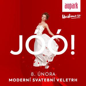 Svatební veletrh v Auparku v Hradci Králové (sobota 8. února 2020, 9-20h)