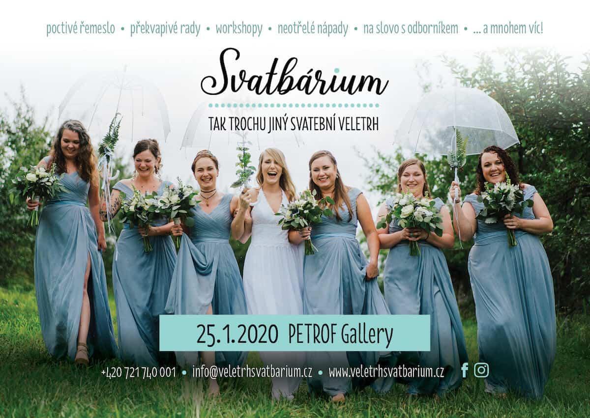 Svatební veletrh Svatbárium - sobota 25. ledna 2020 9:00 až 18:00