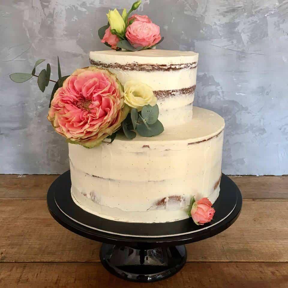 Svatební veletrh Svatbárium - nahý dort